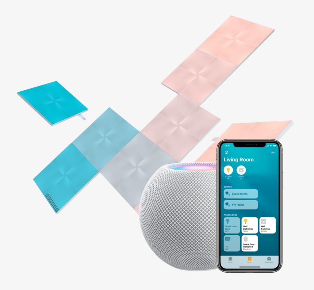 Nanoleaf square canvas kit