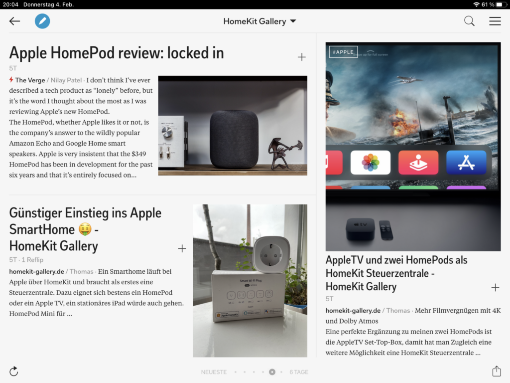 HomeKit Gallery auf Flipboard